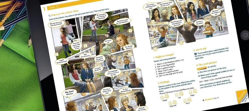 Schülerbuch als E-Book