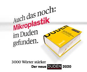 Duden Mikroplastik