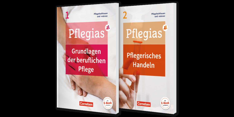 Lehrwerk Pflegias von Cornelsen unterstützt mit Lernvideos