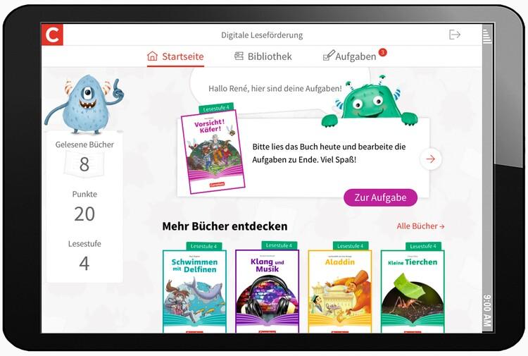 APP Digitale Leseförderung - Schüleransicht