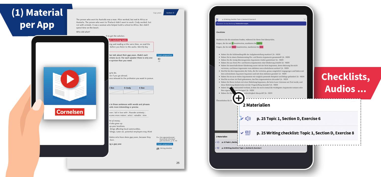 Beispielseite: Zusatzangebot per PagePlayer-App für Crossover