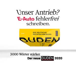 Duden E-Auto