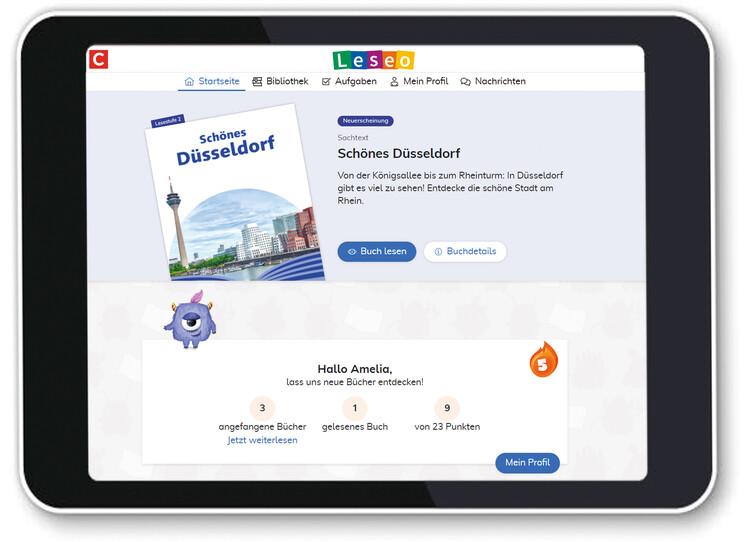 APP Digitale Leseförderung Schüleransicht