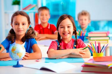 Didaktik: Glückliche Grundschülerinnen