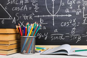 Didaktik: Lernstoff/Formeln an der Tafel