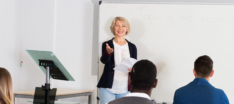 Deutsch als Fremdsprache unterrichten</span><span>
