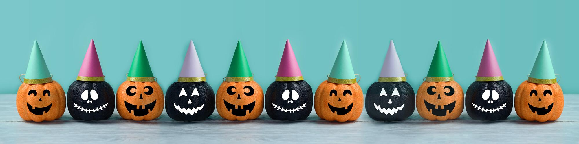 Arbeitsblätter rund um Halloween