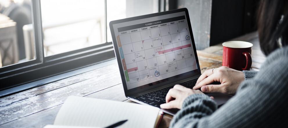 Terminkalender Laptop