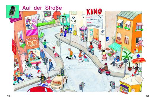 Schaubild: Auf der Straße - Schaubild - Webshop-Download
