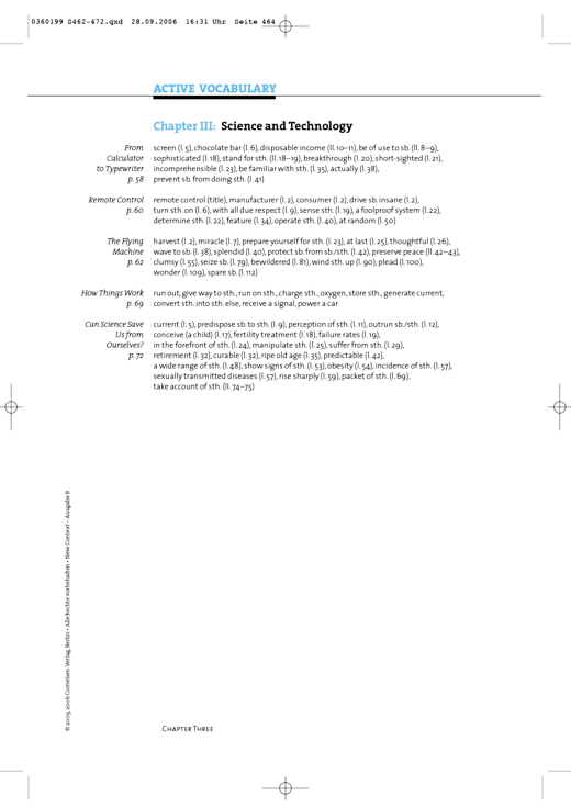 Active Vocabulary: Science and Technology - Active Vocabulary - Webshop-Download