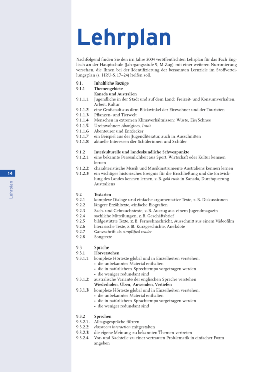 New Highlight - Stoffverteilungsplan Band 5 M-Klassen - Stoffverteilungsplan - Band 5: 9. Jahrgangsstufe