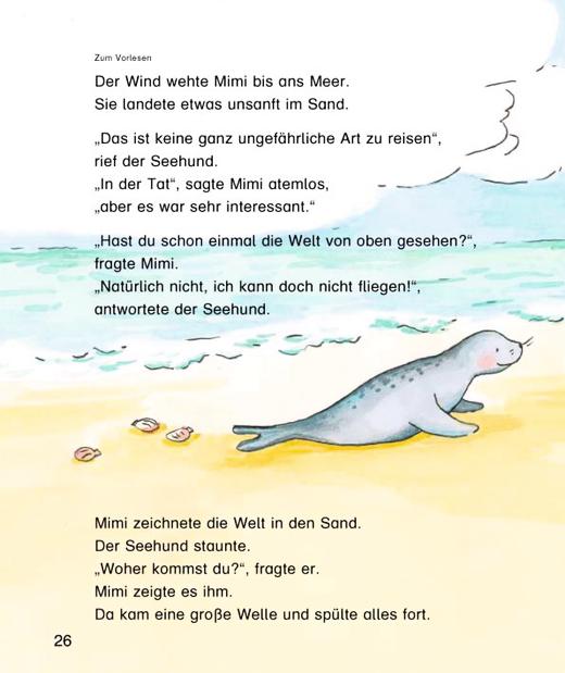 """Mimi, die Lesemaus - """"Mimi Fibel"""": Probeseiten Reisegeschichte - Arbeitsblatt - Webshop-Download"""
