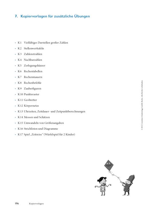 Kopiervorlagen für zusätzliche Übungen zu Rechenwege 4 - Arbeitsblatt - Webshop-Download