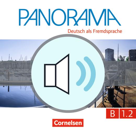Panorama - Hördateien zum Übungsbuch – Leben in Deutschland B1.2 / B1 CD2 - Audiodatei - B1: Teilband 2