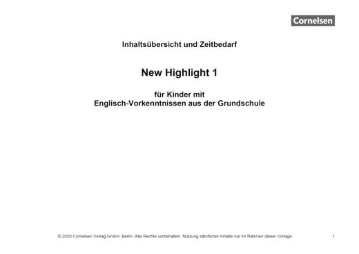 band 1 allgemeine fassung vorkenntnisse englisch stoffverteilungsplan webshop download. Black Bedroom Furniture Sets. Home Design Ideas