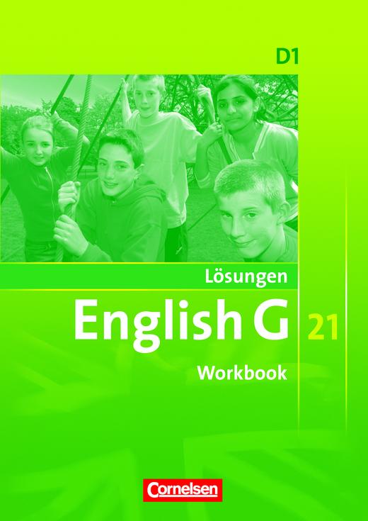 Lösungen zum English G 21-Workbook D1 - Lösungen - Webshop-Download