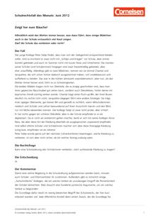 Zeigt her eure Bäuche! - Fall Juni 2012 - Schulrechtsfall