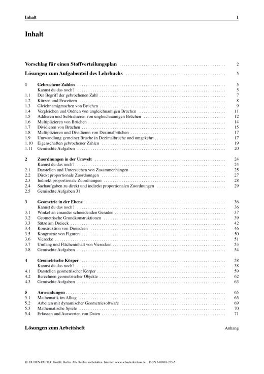 """Link Mathematik - Lehrermaterial """"Mathematik Link 6"""", Mittelschule Sachsen als Download - Handreichung - 6. Schuljahr"""