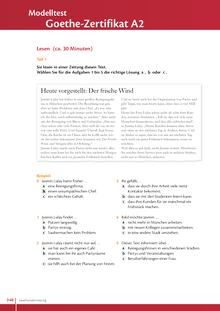 "Studio [21] - Modelltest ""Goethe Zertifikat A2"" - Test - A2: Gesamtband"