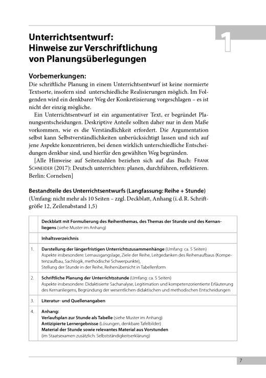Scriptor Praxis - Materialien – Deutsch unterrichten: planen, … - Didaktische Fachinfo