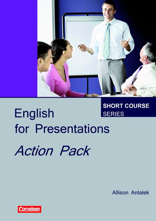 Short Course Series - Jetzt testen: Action Pack English for Presentations - Arbeitsblatt - Webshop-Download