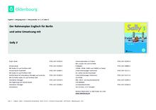 Sally - Stoffverteilungsplan für Berlin - 3. Schuljahr