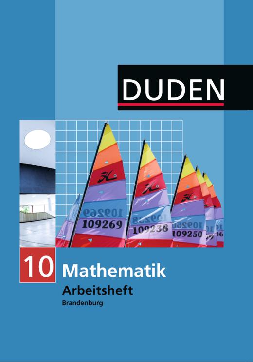 """Lösungen des Arbeitshefts """"Mathematik 10"""", Gymnasium Brandenburg - Lösungen - Webshop-Download"""