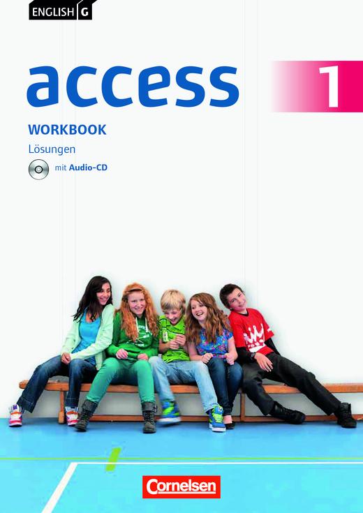 English G Access - Lösungsheft Workbook Kurzfassung - Lösungen - Webshop-Download