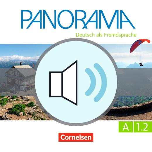 Panorama - CD2 - Audiodatei zum Übungsbuch - A1: Teilband 2