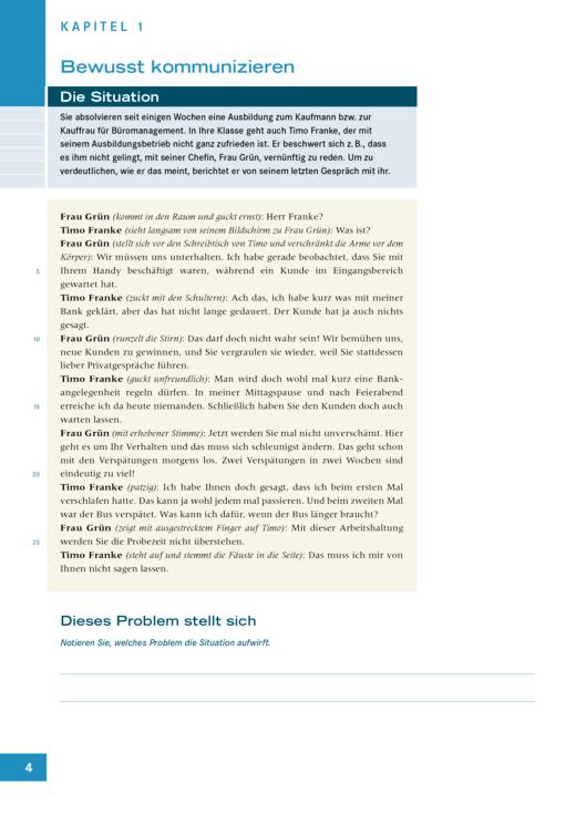 Das Deutschbuch für Berufsfachschulen - Onlinematerial zum Arbeitsheft