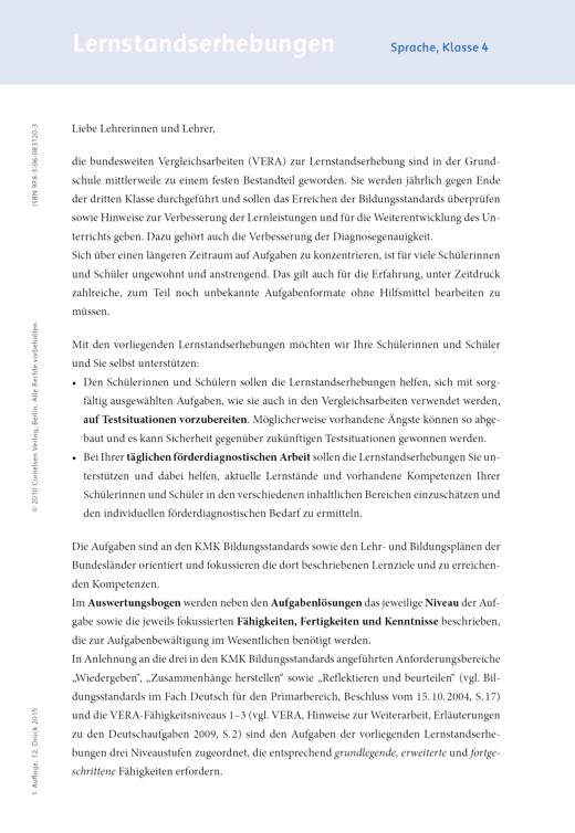 Jo-Jo Sprachbuch - Lernstandserhebungen Jo-Jo Sprachbuch Arbeitshefte 4 - Lernstandserhebung - 4. Schuljahr