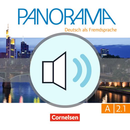 Panorama - Hördateien zum Übungsbuch A2.1 / A2 CD1 - Audiodatei - A2: Teilband 1