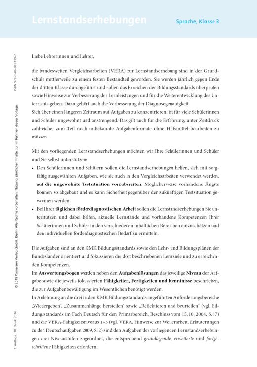 der-die-das - Lernstandserhebungen Deutsch Klasse 3 - Leistungsmessung, Test, Prüfung - zu Lehrwerken - 3. Schuljahr