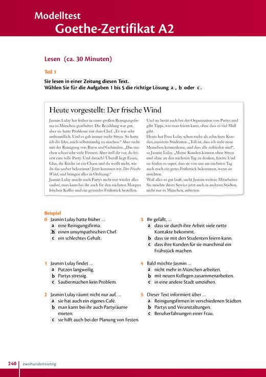 studio express modelltest goethe zertifikat a2 arbeitsblatt webshop download cornelsen. Black Bedroom Furniture Sets. Home Design Ideas