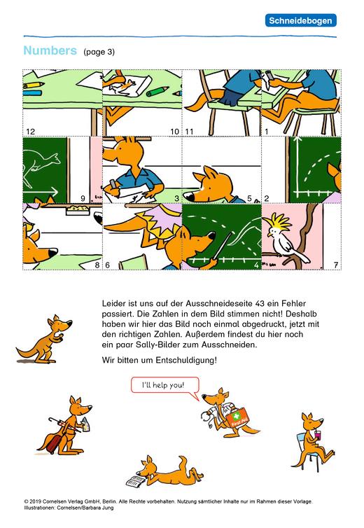 Sally - Sally Activity Book 4 - Korrekturseite - Korrekturseiten - 4. Schuljahr