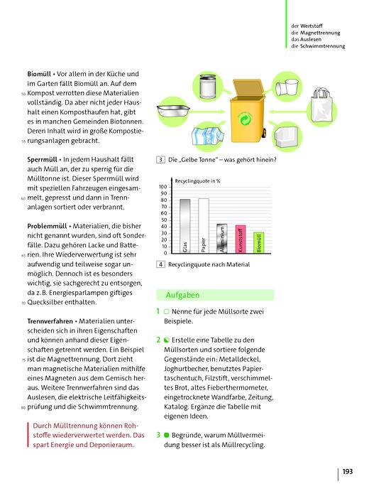 Natur und Technik - Naturwissenschaften: Neubearbeitung - Wichtige Änderungen zur Prüfauflage, S. 193/194 - Aktualisierung - Webshop-Download