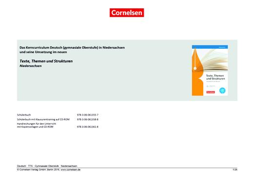 Texte, Themen und Strukturen - Planungshilfe (G9)
