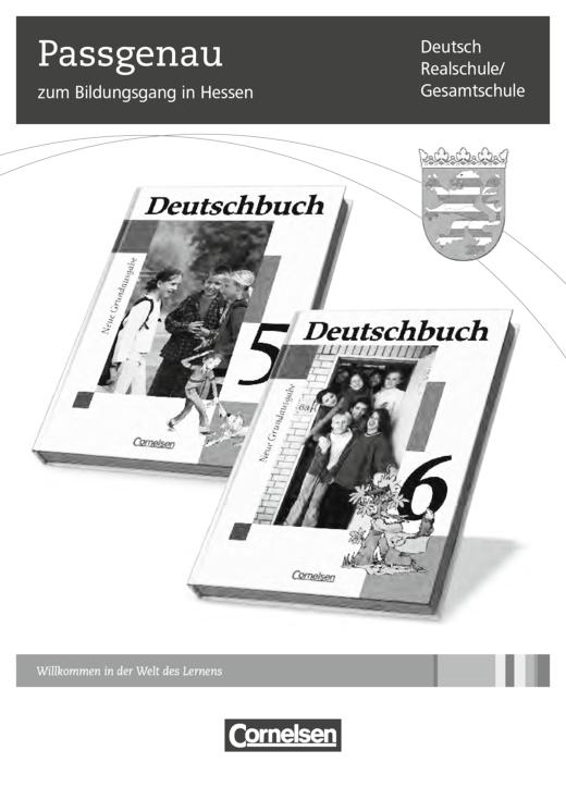 Deutschbuch - Stoffverteilungsplan für Hessen - 6. Schuljahr