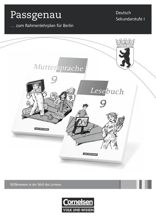 Muttersprache - Synopse für Berlin - 9. Schuljahr