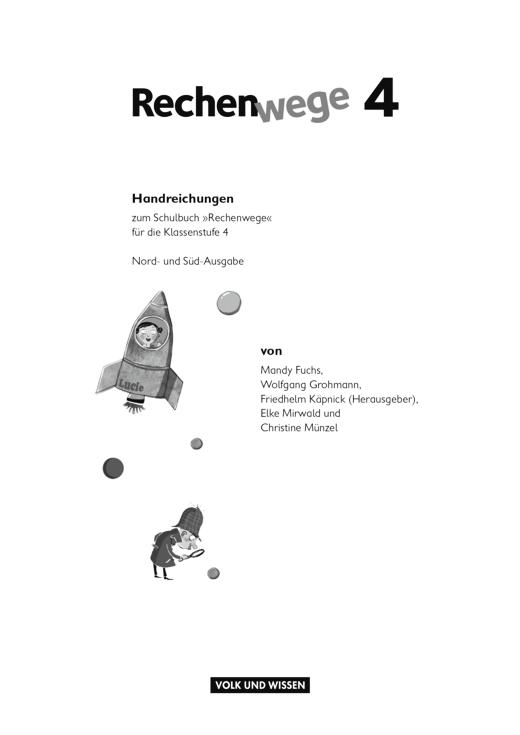 Hinweise zur Nutzung der SB-Seiten 18-39 Rechenwege 4 - Didaktische Fachinfo - Webshop-Download