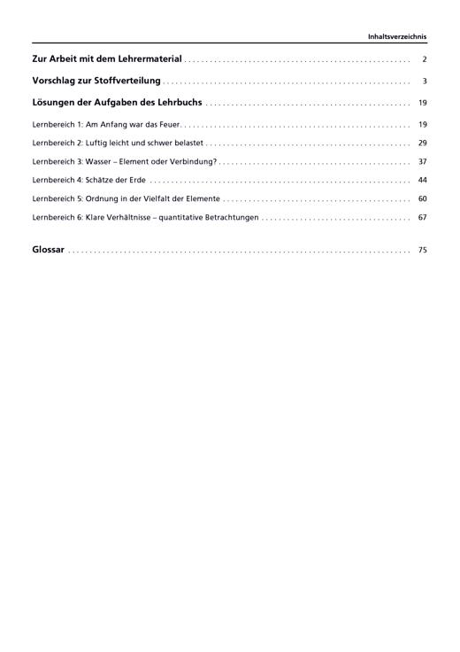 """Lehrermaterial """"Chemie 7/8"""", Gymnasium Berlin als Download - Handreichung - Webshop-Download"""