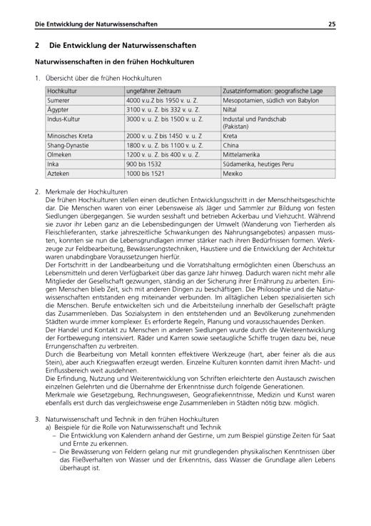 """Die Entwicklung der Naturwissenschaften """"Lösungsheft Naturwissenschaften 1 Natur-Mensch-Technik"""" (zu LB und AH) - Lösungen - Webshop-Download"""