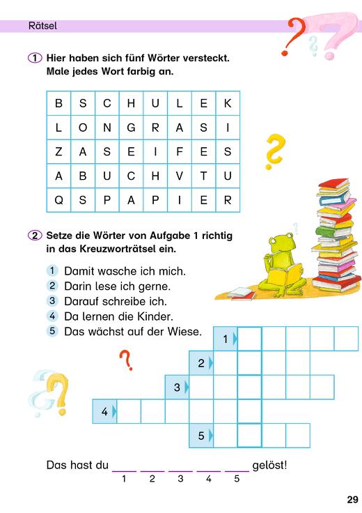Deutsch-Stars - Rätsel - Arbeitsblatt - Webshop-Download