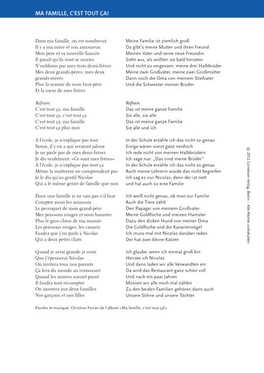 À toi ! 1A Schülerbuch – Unité 4: Magazine pour le plaisir (p. 63) - Arbeitsblatt - Webshop-Download