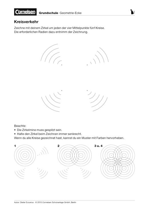 kreisverkehr arbeitsblatt webshop download cornelsen. Black Bedroom Furniture Sets. Home Design Ideas