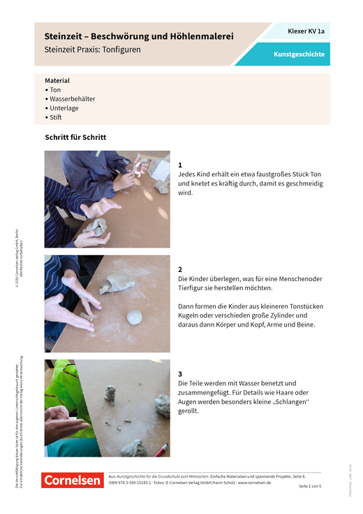 Klexer Kunstgeschichte - Arbeitsblatt