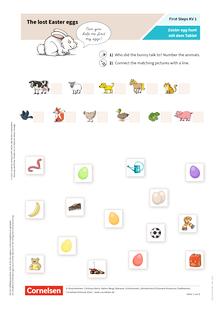 First Steps: Ester egg hunt mit dem Tablet - eine Mitmach-Story der anderen Art - Arbeitsblatt