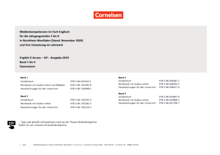 English G Access - Planungsraster zur Medienkonzepterstellung - Band 1-4: 5.-8. Schuljahr