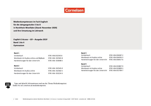Access - Planungsraster zur Medienkonzepterstellung - Band 1-4: 5.-8. Schuljahr