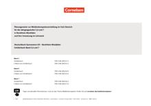 Deutschbuch Gymnasium - Planungsraster zur Medienkonzepterstellung-Jahrgangsstufe 5-7 - Synopse